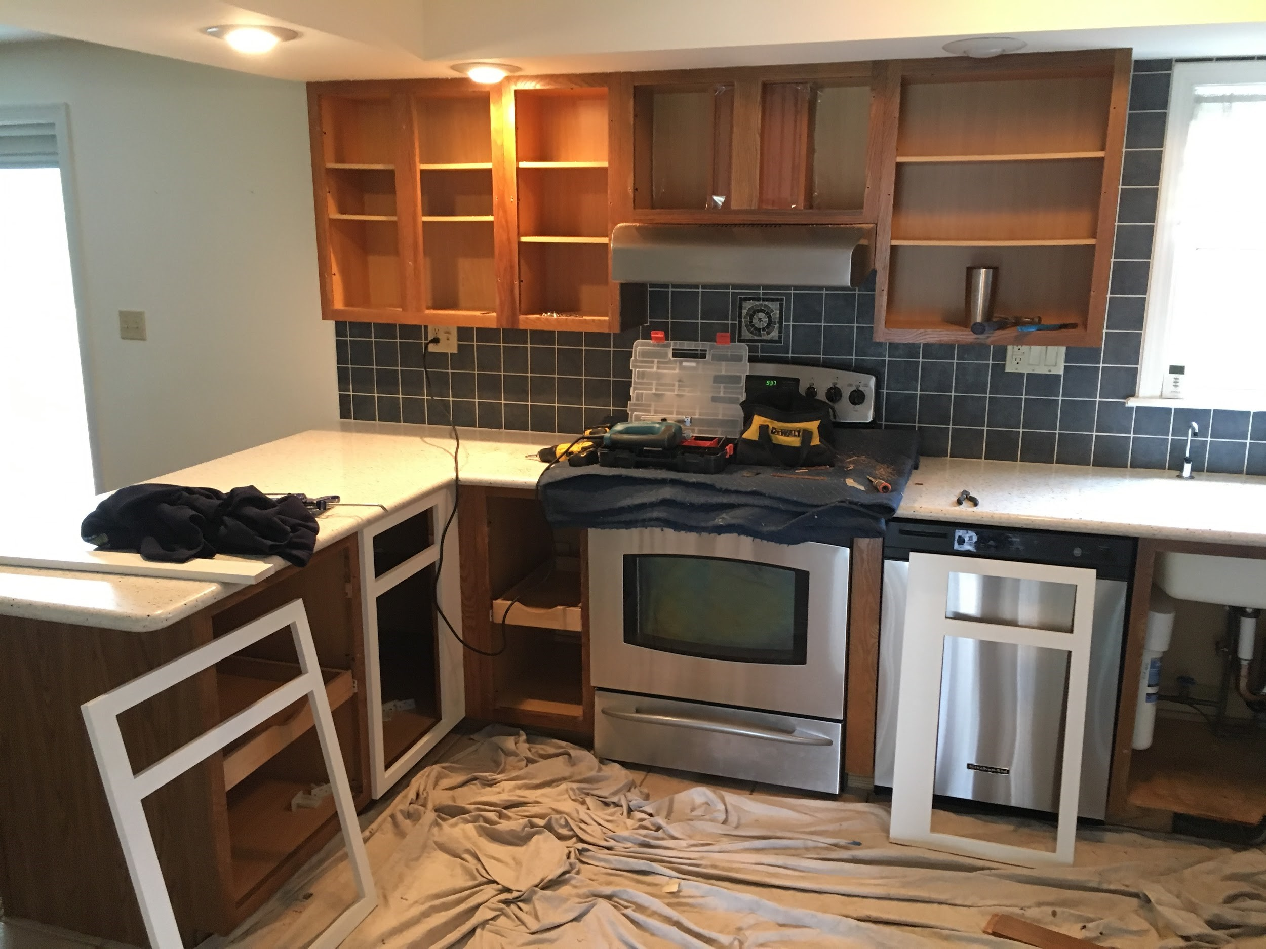 Kitchen Refacing Services in Bucks County PA & Burlington County