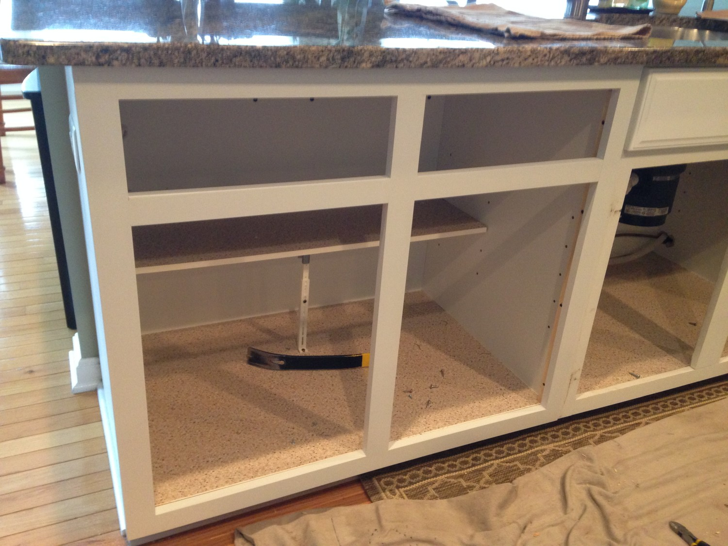 New Face Frame Cabinet Refacing