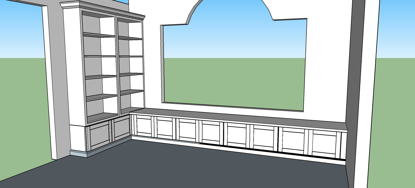 imagine visualize and see the changes you want in your kitchen as a custom cabinet builder as well we at capital kitchen refacing use google sketchup to help show how your cabinets will look here we have designed a